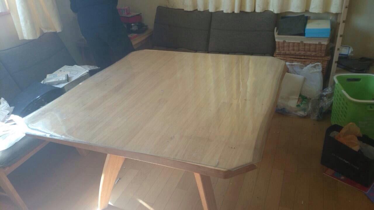 家具回収事例1、コーヒーテーブル等の回収